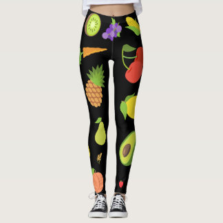 Legging Frutas e legumes Emojis
