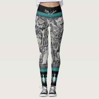 Legging Gato-UM-Listers personalizados