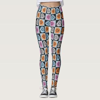 Legging Gatos Checkered