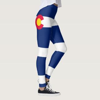 Legging Gráfico dinâmico da bandeira do estado de Colorado