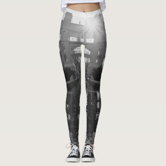 Legging Grayscale do Sunburst de Coronado