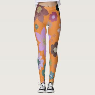 Legging Grunge floral