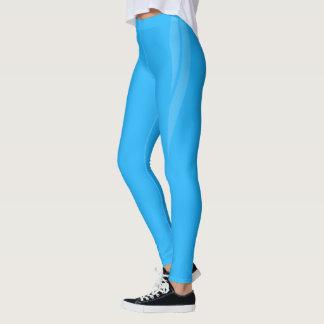 Legging HAMbyWG - caneleiras da compressão - azul-céu