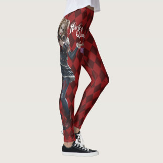 Legging Harley Quinn com dados distorcido