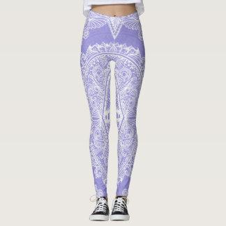 Legging Idade do Lilac do despertar, bohemian, newage