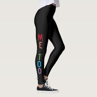 Legging IMITAÇÃO no arco-íris colore caneleiras pretas