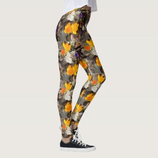 Legging Ir com crocos multicolores