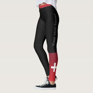 Legging JERRILLA desenhos Custom desporto Ir Suíça
