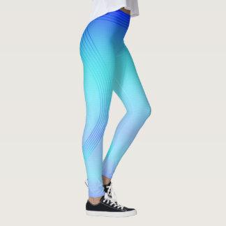 Legging JERRILLA desenhos desportos Ir azul Acentuado