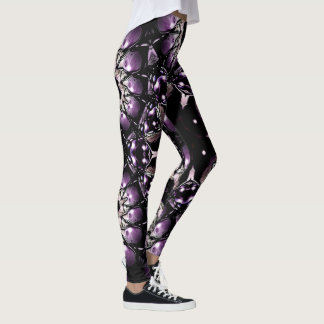 Legging Leggins abstratos da arte do Fractal por oásis