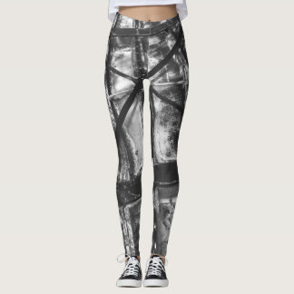Legging Leggins do estilo do punk
