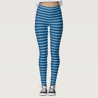 Legging Listras azuis do Snorkel