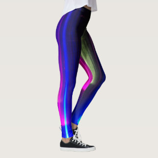 Legging Luzes brilhantes abstratas