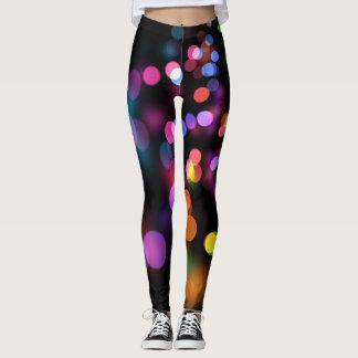 Legging Luzes multicoloridos