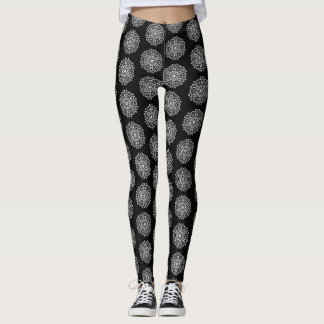 Legging Mandala do corvo