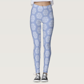 Legging Mandala do mirtilo