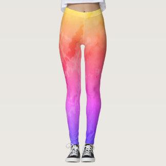 Legging Mármore do arco-íris