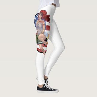 Legging Menina americana