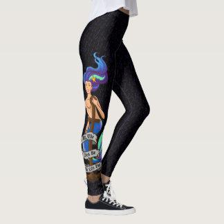 Legging mermaid_msaquapurple_leggings