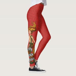 Legging mermaid_msorange_redleggings