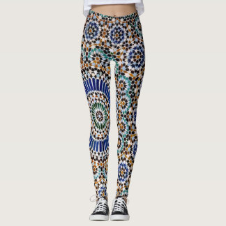 Legging Mosaic Love - Power yoga Ir