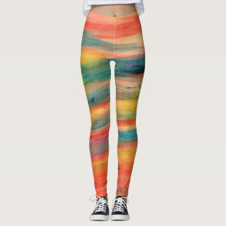 Legging Multi LISTRAS coloridas