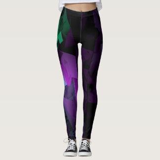 Legging Multicolorido na obscuridade