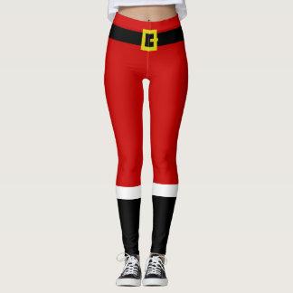Legging Natal do ~ do terno do papai noel engraçado
