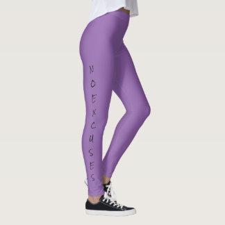 """Legging """"NENHUMAS DESCULPAS"""" das mulheres"""