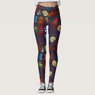 Legging Nerd do mar