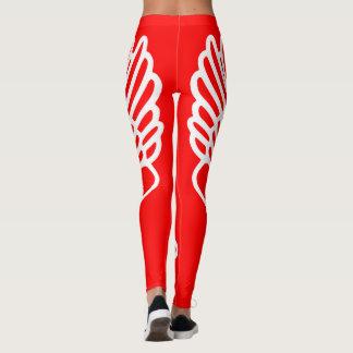 Legging O atletismo Hermes voou caneleiras dos corredores