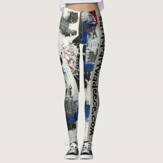 Legging O original afundou caneleiras do design de Parfwa