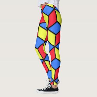 Legging Olhar do cubo de R