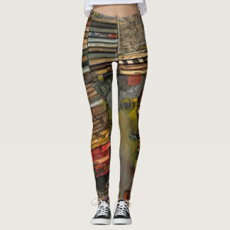 Legging olhar industrial, original, divertimento,