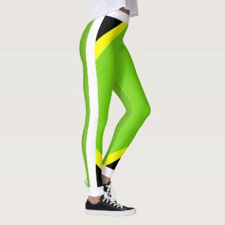 Legging Orgulho jamaicano florescente