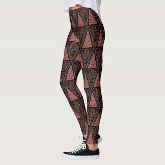 Legging Painel tribal dos guerreiros da pantera preta |