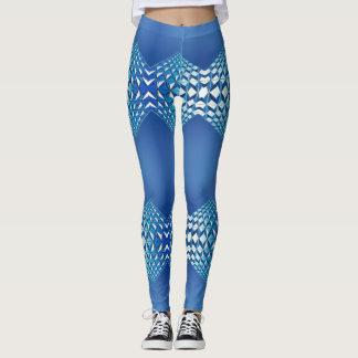 Legging Palhaço azul