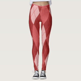 Legging Peachy-Argyle-Patches_LEGGING'S_XS-XL