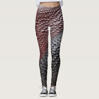Legging Pele de cobra textured
