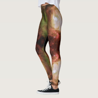 Legging Pés da deusa da estrela da nebulosa