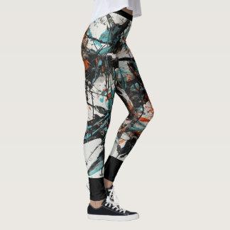 Legging Pintura abstrata 4 de Marta