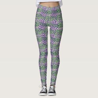 Legging Pontos do leopardo