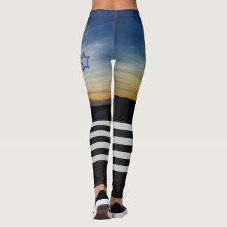 Legging Por do sol alto do joelho