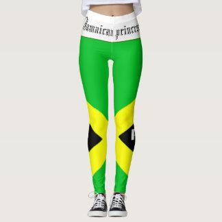 LEGGING PRINCESA JAMAICANA BANDEIRA CANELEIRAS. HAVIC ACD