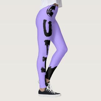 Legging Punk Cutie, luz completa - roxo