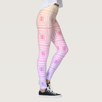 Legging Quadrado com pastels.
