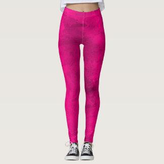 Legging Quadril encantador do exercício cor-de-rosa
