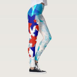 Legging Quarto patriótico de julho