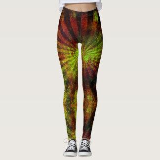 Legging Reggae Vibrations - Power yoga Ir