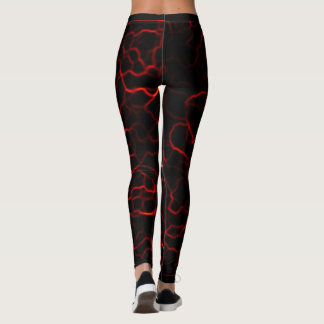 Legging relâmpago do plasma